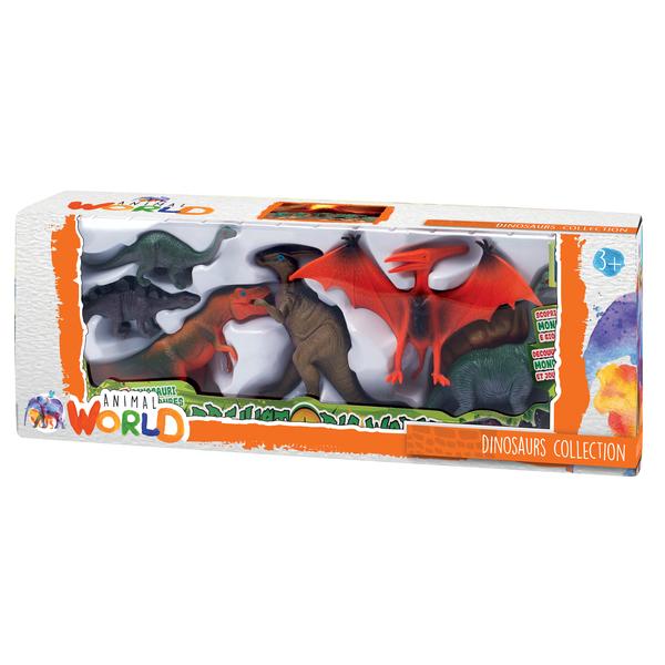 Coffret dinosaures 7 pièces