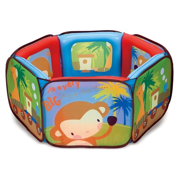 parc gonflant 50 balles baby smile king jouet activit s d 39 veil baby smile jeux d 39 veil. Black Bedroom Furniture Sets. Home Design Ideas