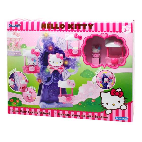 grande roue hello kitty logitoys king jouet figurines et cartes collectionner logitoys. Black Bedroom Furniture Sets. Home Design Ideas