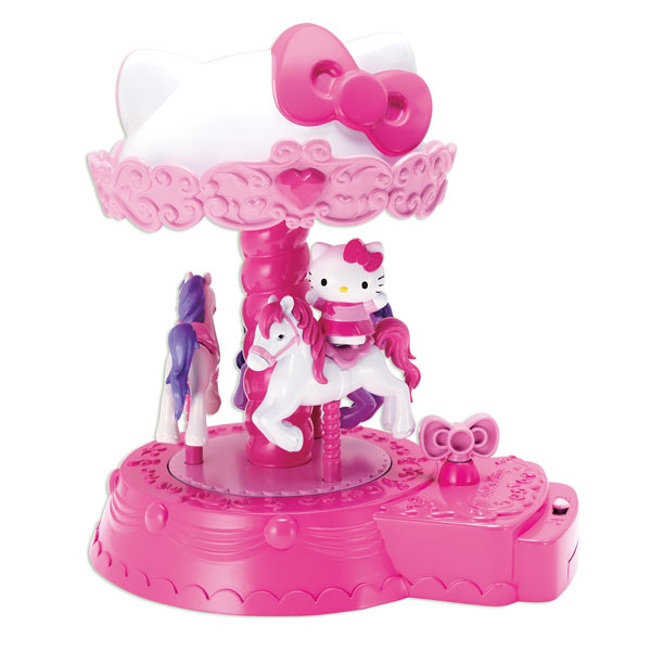 le carrousel d 39 hello kitty logitoys king jouet figurines et cartes collectionner logitoys. Black Bedroom Furniture Sets. Home Design Ideas