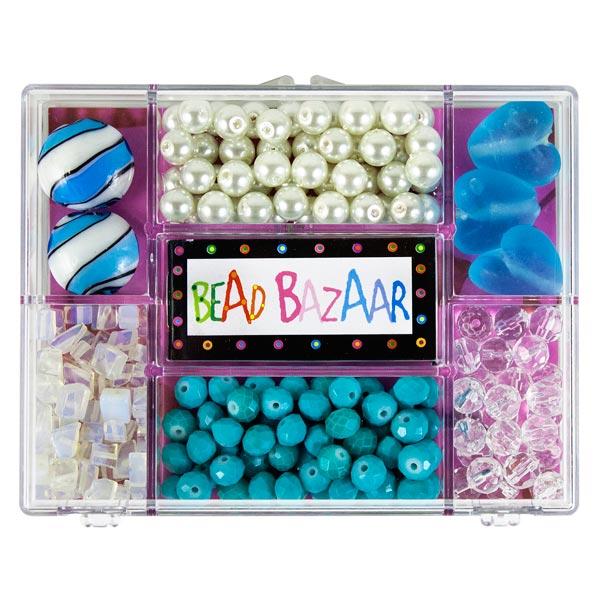 coffret bouquet de perles verre de la mer 14 99. Black Bedroom Furniture Sets. Home Design Ideas