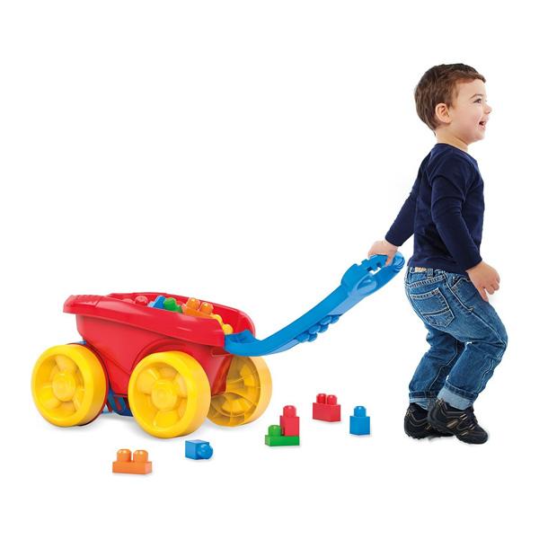 Mega Bloks-Wagon ramasseur de briques