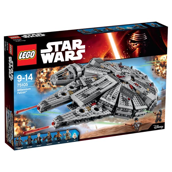 lego star wars 75105 millennium falcon lego king jouet. Black Bedroom Furniture Sets. Home Design Ideas