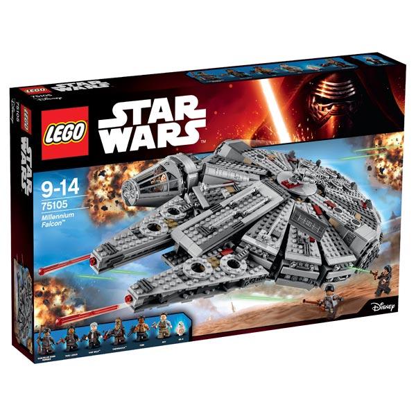 lego star wars 75105 millennium falcon lego king jouet lego planchettes autres lego jeux. Black Bedroom Furniture Sets. Home Design Ideas