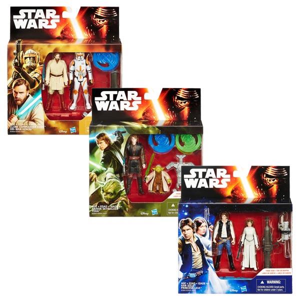 star wars pack 2 figurines 10cm hasbro king jouet h ros univers hasbro jeux d 39 imitation. Black Bedroom Furniture Sets. Home Design Ideas