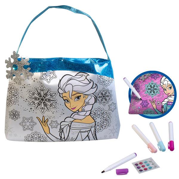 mon sac personnaliser la reine des neiges lansay king jouet perles bijoux parfums. Black Bedroom Furniture Sets. Home Design Ideas