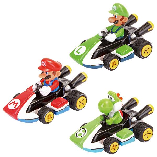 Coffret de 3 v hicules mario kart 8 carrera king jouet - Mario kart wii personnages et vehicules ...
