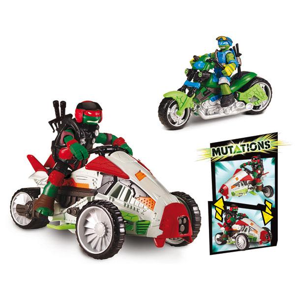Tortues ninja mutation deluxe v hicule avec figurine 12 cm - Voiture des tortues ninja ...