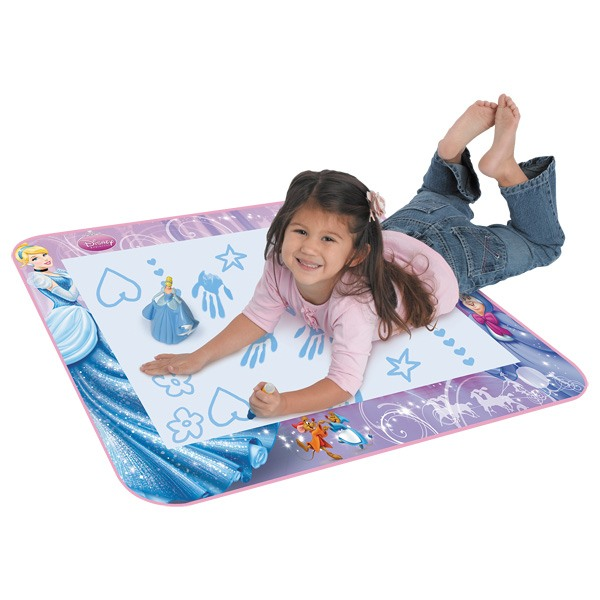 tapis aquadoodle disney princesses tomy king jouet dessin et peinture tomy jeux cr atifs. Black Bedroom Furniture Sets. Home Design Ideas