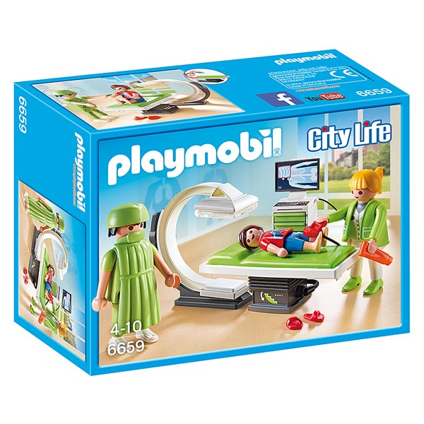 6659 salle de radiologie playmobil city life playmobil for Salle a manger playmobil city life