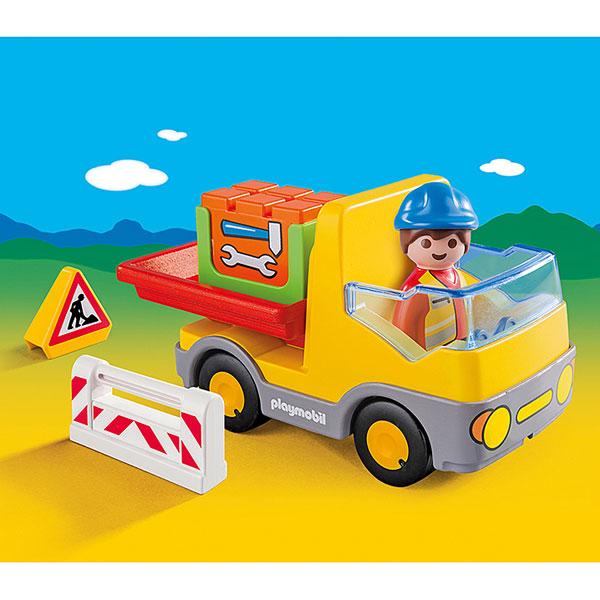 6960-Camion benne - Playmobil 1.2.3