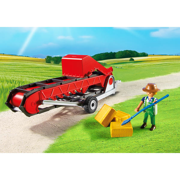 Playmobil Country 6132 Convoyeur à foin DreamLand