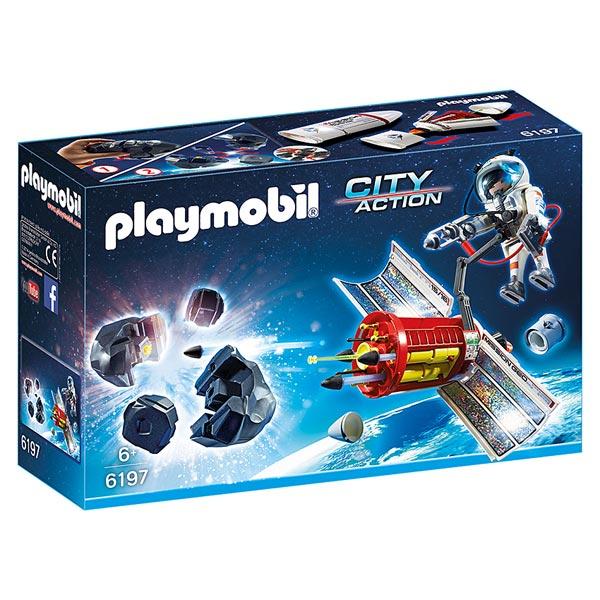 6197-Satellite avec laser et météoroïde - Playmobil City Action