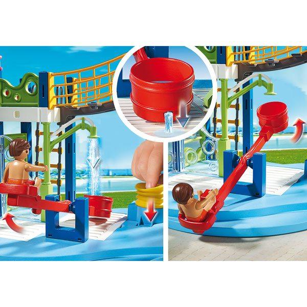 6670 aire de jeux aquatique de playmobil - Toboggan king jouet ...