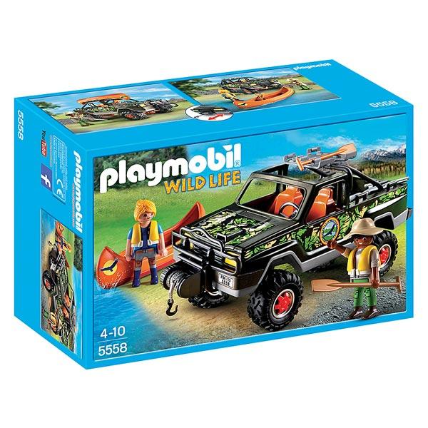 5558-Pick-up des Aventuriers  - Playmobil Wild Life