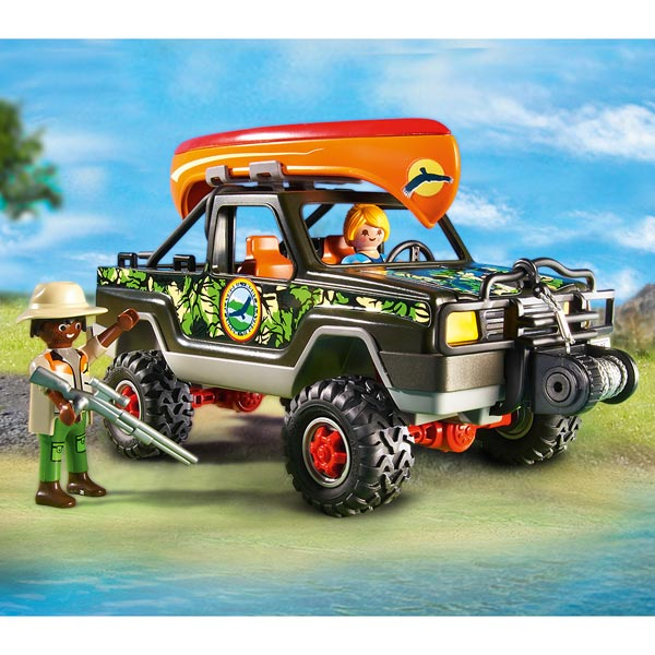 5558 pick up des aventuriers playmobil wild life playmobil king jouet playmobil playmobil. Black Bedroom Furniture Sets. Home Design Ideas