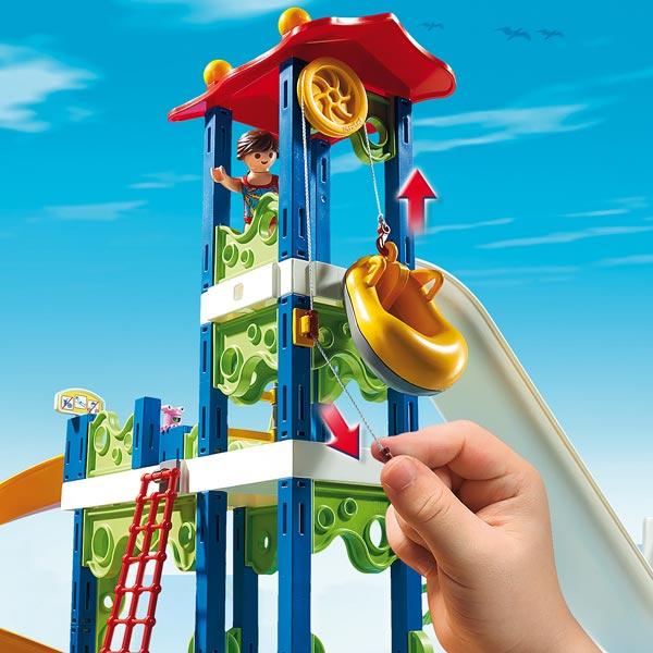 6669 parc aquatique avec toboggans g ants de playmobil - Toboggan king jouet ...