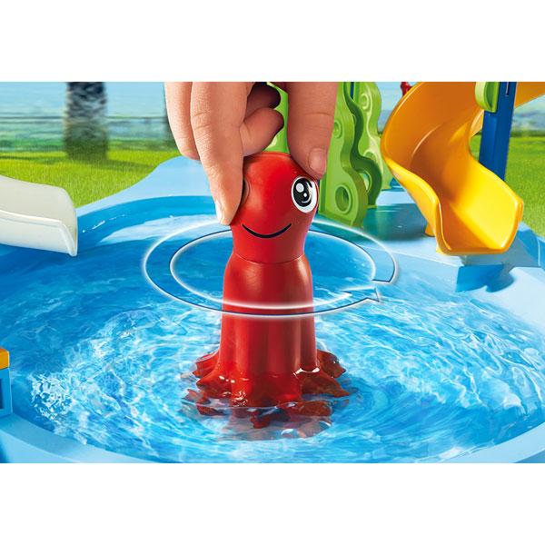 6669 parc aquatique avec toboggans g ants playmobil king jouet playmobil playmobil jeux d - Toboggan king jouet ...