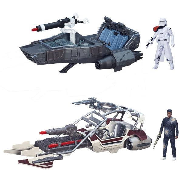 Comparer Star Wars Class I Véhicule + Pilote (assortiment) le moins cher