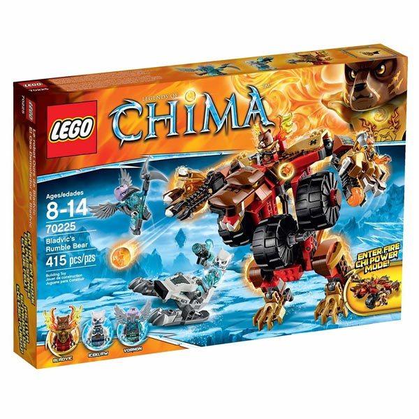 LEGO Legends of Chima : Speedorz - Jeu Course - Gamekult