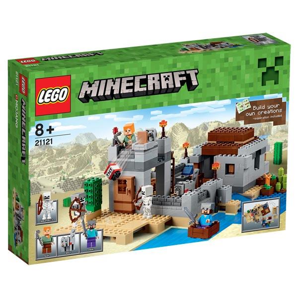 21121 le desert minecraft lego king jouet lego planchettes autres lego jeux de construction. Black Bedroom Furniture Sets. Home Design Ideas