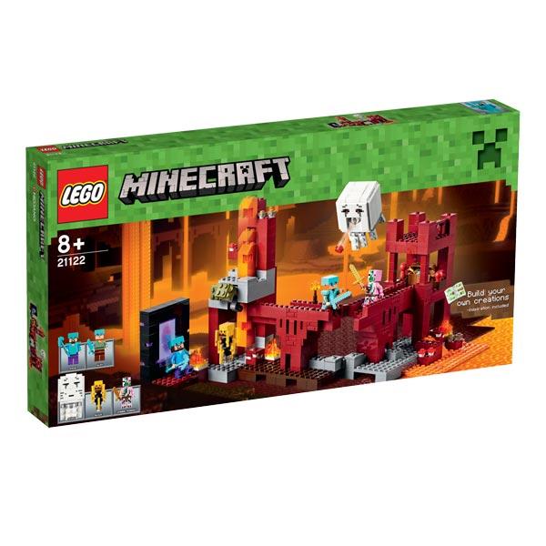 21122 la forteresse minecraft lego king jouet lego planchettes autres lego jeux de. Black Bedroom Furniture Sets. Home Design Ideas