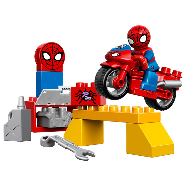10607 duplo spiderman et moto lego king jouet lego - Jeux spiderman moto ...