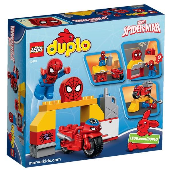 10607 duplo spiderman et moto duplo king jouet lego planchettes autres duplo jeux de construction