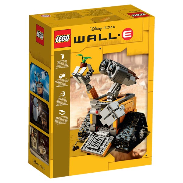 21303 wall e lego king jouet lego planchettes autres. Black Bedroom Furniture Sets. Home Design Ideas