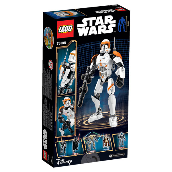 75108-Commandant Clone Cody de LEGO