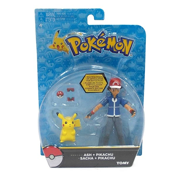 Pok 233 Mon Pack Figurine D Action Sacha Amp Pikachu Tomy King