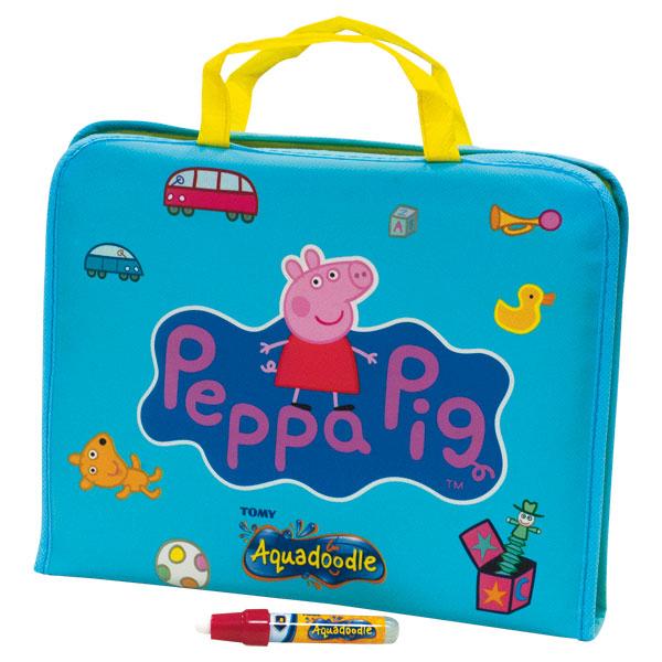 jeu jouet jeux creatifs dessin peinture ref  valisette aquadoodle peppa pig