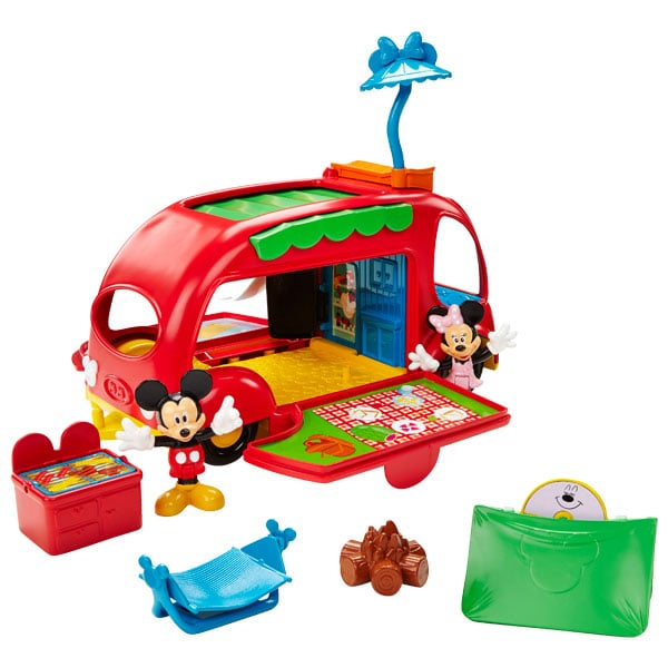 camping car minnie de fisher price friends. Black Bedroom Furniture Sets. Home Design Ideas