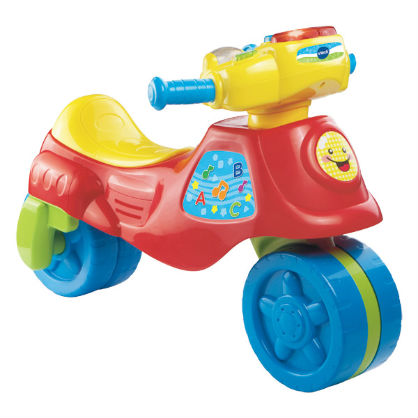 cyclo moto 2 en 1 vtech king jouet porteurs jouets. Black Bedroom Furniture Sets. Home Design Ideas