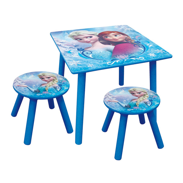 Ensemble table et tabourets frozen fun house king jouet d coration de la chambre fun house for Table de jardin enfants