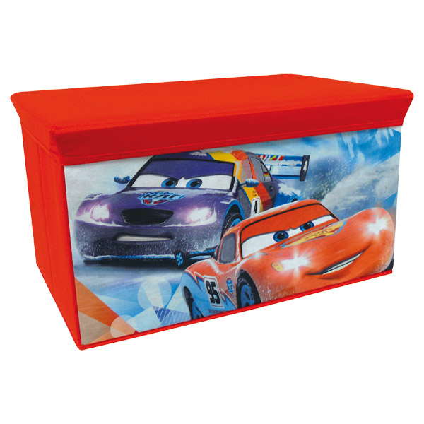 coffre jouets cars fun house king jouet d coration de. Black Bedroom Furniture Sets. Home Design Ideas