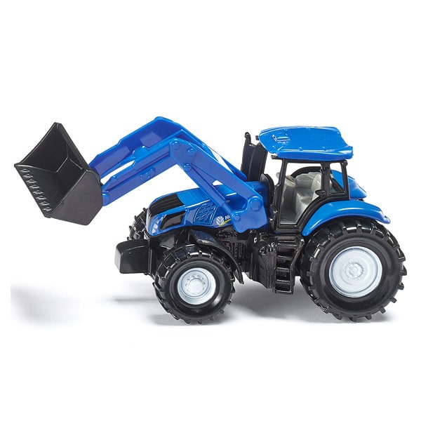 Tracteur New Holland avec chargeur frontal