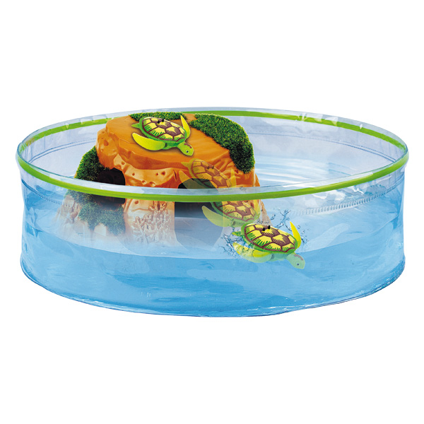 Aquarium tortue splash toys king jouet d couverte de la for Aquarium tortue