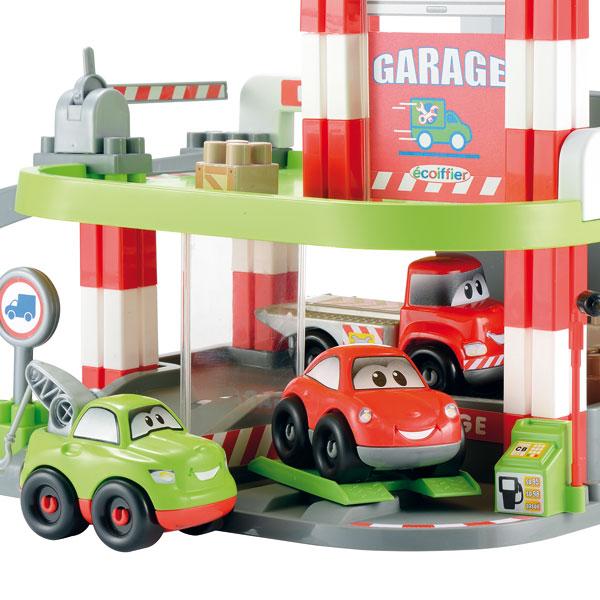 garage fast car abbrick de ecoiffier. Black Bedroom Furniture Sets. Home Design Ideas