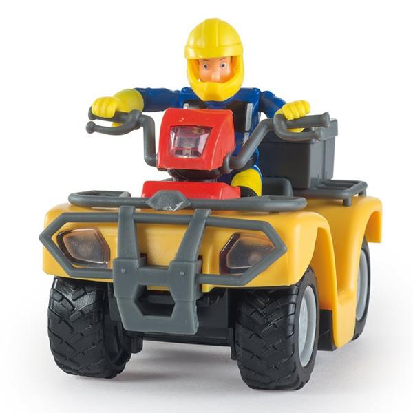 Quad Mercure Sam Le Pompier + Figurine