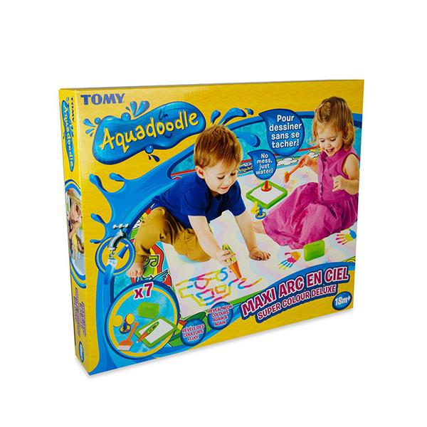 maxi tapis aquadoodle arc en ciel tomy king jouet tapis d 233 veil tomy jeux d 233 veil