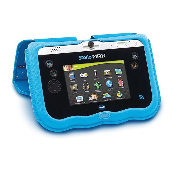 storio max 5 etui support bleu vtech king jouet jeux et jouets lectroniques vtech. Black Bedroom Furniture Sets. Home Design Ideas