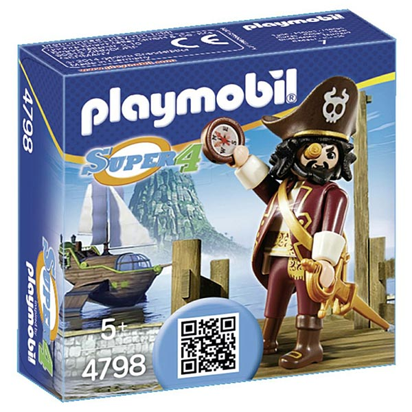 4798-Barbe de requin  - Playmobil Super4