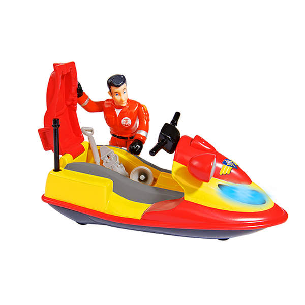 jet ski junon avec figurine elvis sam le pompier smoby. Black Bedroom Furniture Sets. Home Design Ideas