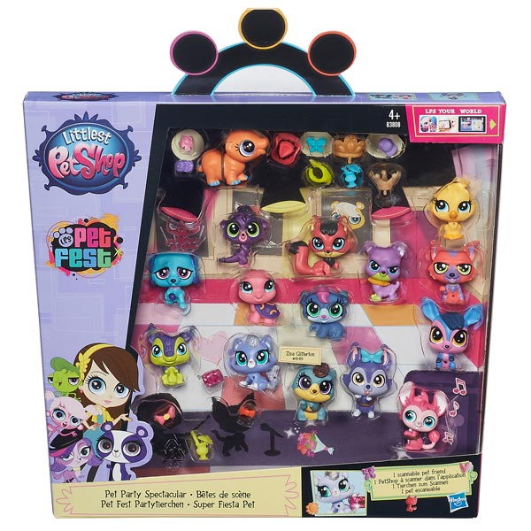 coffret 15 mini petshop hasbro king jouet h ros univers hasbro jeux d 39 imitation mondes. Black Bedroom Furniture Sets. Home Design Ideas
