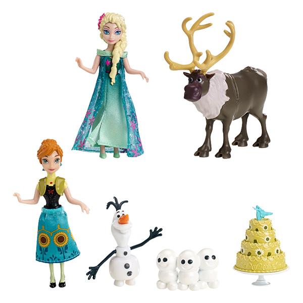 Coffret Anniversaire Fête Givrée La Reine des Neiges de Mattel