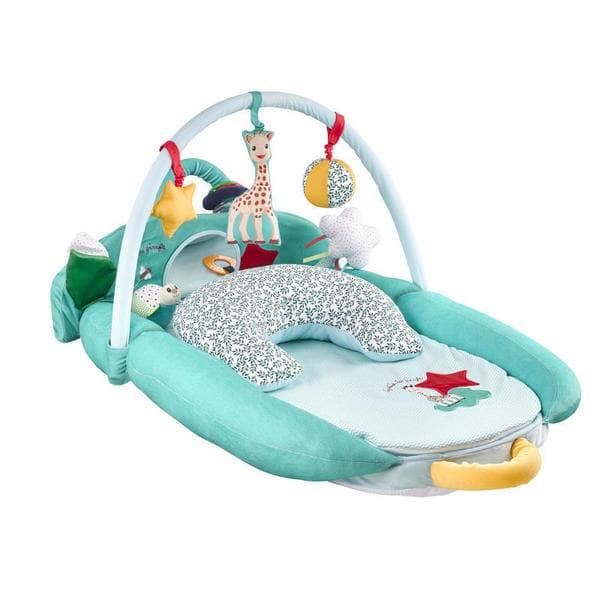 evolu 39 doux sophie la girafe vulli king jouet tapis d 39 veil vulli jeux d 39 veil. Black Bedroom Furniture Sets. Home Design Ideas