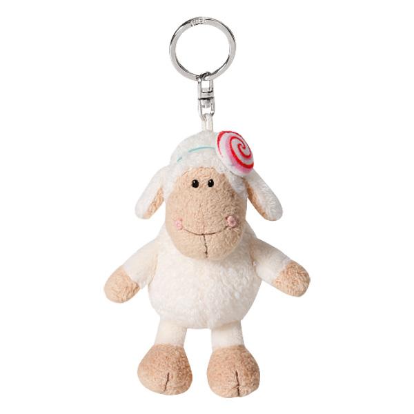 Porte clefs Mouton Jolly candy 10 cm