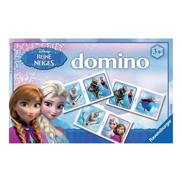 Domino la reine des neiges ravensburger king jouet jeux - Jeu reine des neiges en ligne ...