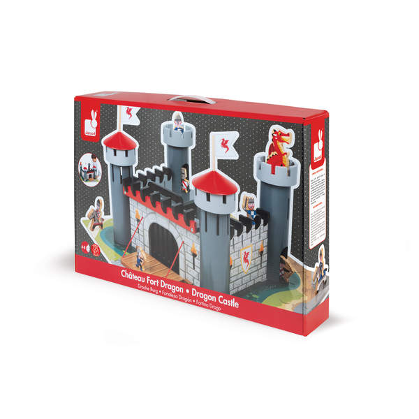 Château fort en bois dragon